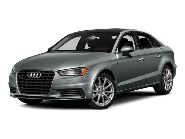 Monsoon Gray Metallic 2015 Audi A3 Pictures A3 Sed 4D TDI Premium Plus 2WD I4 Turbo photos front view