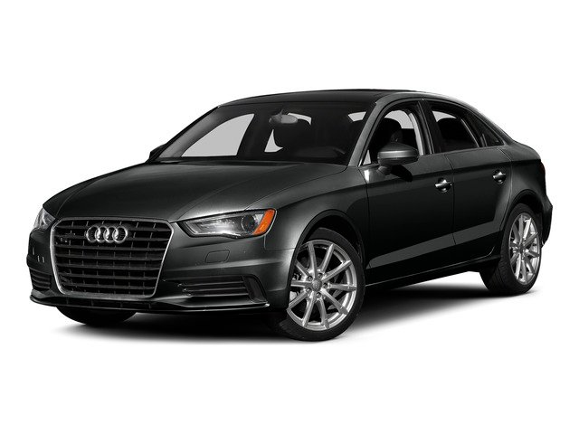 Mythos Black Metallic 2015 Audi A3 Pictures A3 Sedan 4D 1.8T Premium I4 Turbo photos front view