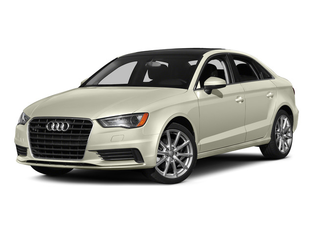 Glacier White Metallic 2015 Audi A3 Pictures A3 Sedan 4D 1.8T Premium I4 Turbo photos front view