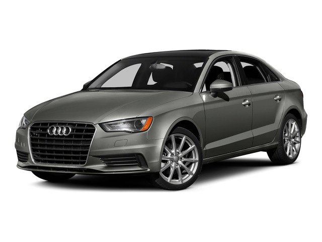Lotus Gray Metallic 2015 Audi A3 Pictures A3 Sedan 4D TDI Prestige 2WD I4 Turbo photos front view