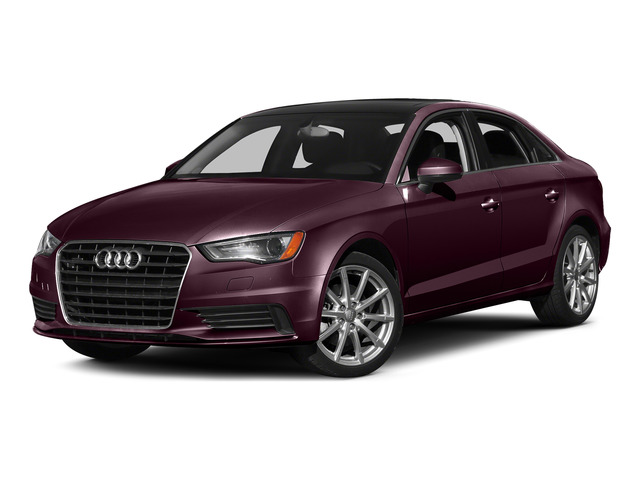 Shiraz Red Metallic 2015 Audi A3 Pictures A3 Sedan 4D TDI Prestige 2WD I4 Turbo photos front view