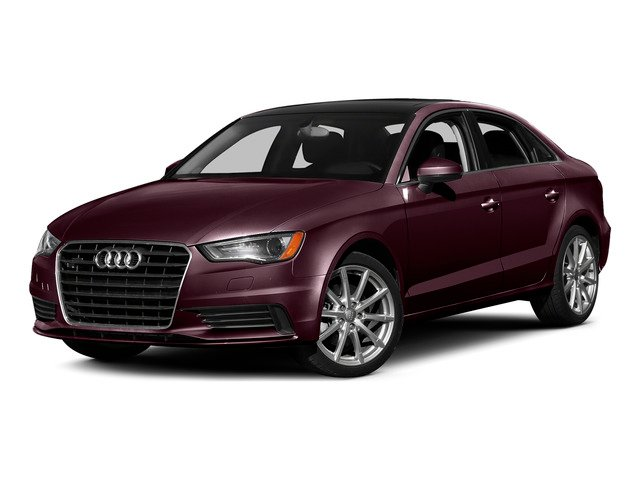 Shiraz Red Metallic 2015 Audi A3 Pictures A3 Sedan 4D 1.8T Premium I4 Turbo photos front view