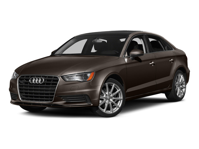Beluga Brown Metallic 2015 Audi A3 Pictures A3 Sedan 4D TDI Prestige 2WD I4 Turbo photos front view