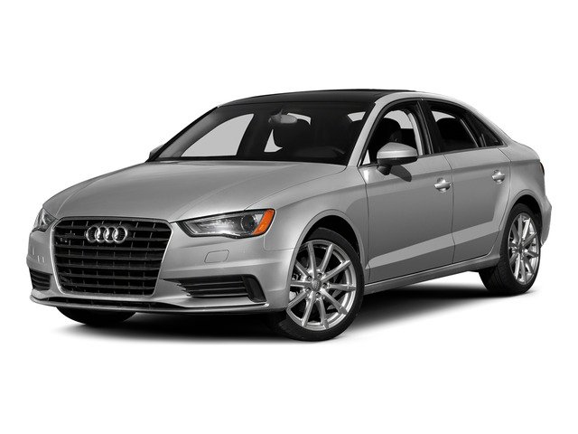 Ice Silver Metallic 2015 Audi A3 Pictures A3 Sed 4D TDI Premium Plus 2WD I4 Turbo photos front view