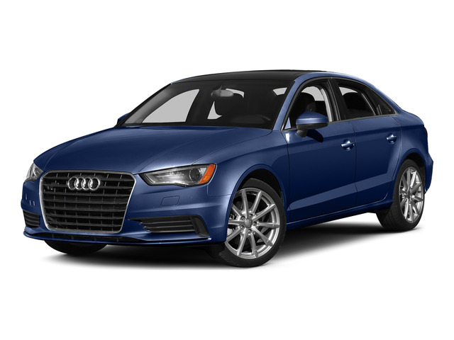 Scuba Blue Metallic 2015 Audi A3 Pictures A3 Sedan 4D TDI Prestige 2WD I4 Turbo photos front view