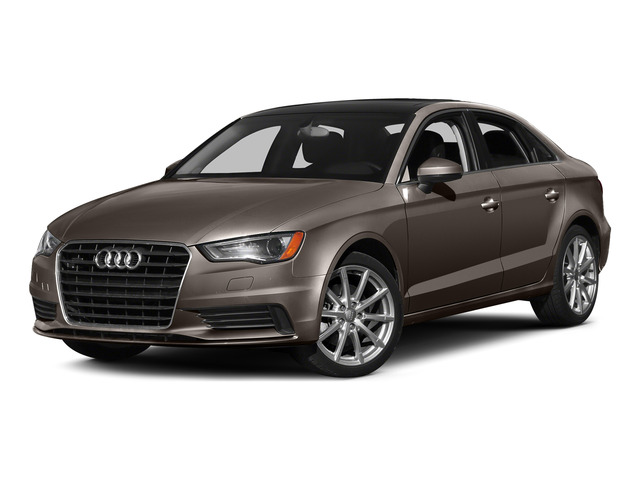Dakota Gray Metallic 2015 Audi A3 Pictures A3 Sedan 4D TDI Prestige 2WD I4 Turbo photos front view