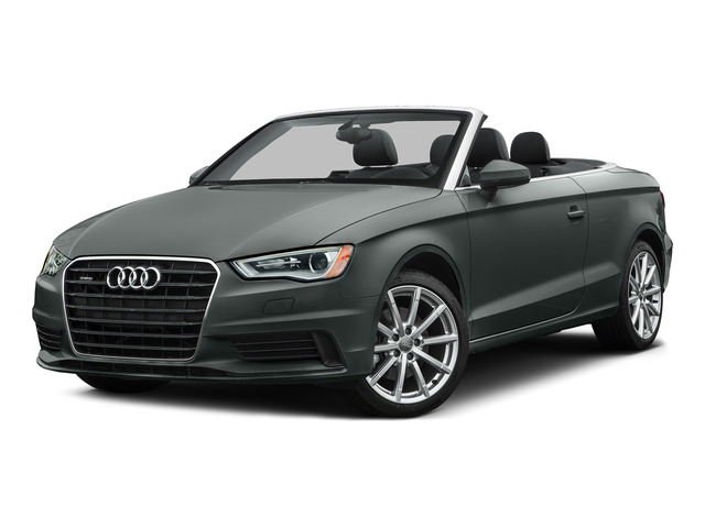 Monsoon Gray Metallic/Black Roof 2015 Audi A3 Pictures A3 Conv 2D 1.8T Premium 2WD I4 Turbo photos front view