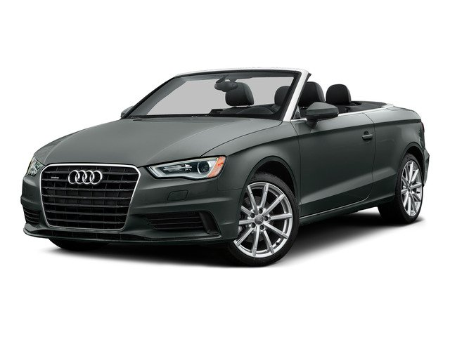 Monsoon Gray Metallic/Black Roof 2015 Audi A3 Pictures A3 Conv 2D 1.8T Premium Plus I4 Turbo photos front view