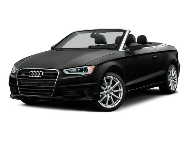 Mythos Black Metallic/Black Roof 2015 Audi A3 Pictures A3 Conv 2D 2.0T Prem Plus AWD I4 Turbo photos front view
