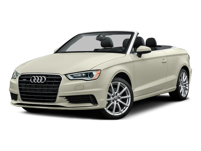 Glacier White Metallic/Black Roof 2015 Audi A3 Pictures A3 Conv 2D 2.0T Prem Plus AWD I4 Turbo photos front view