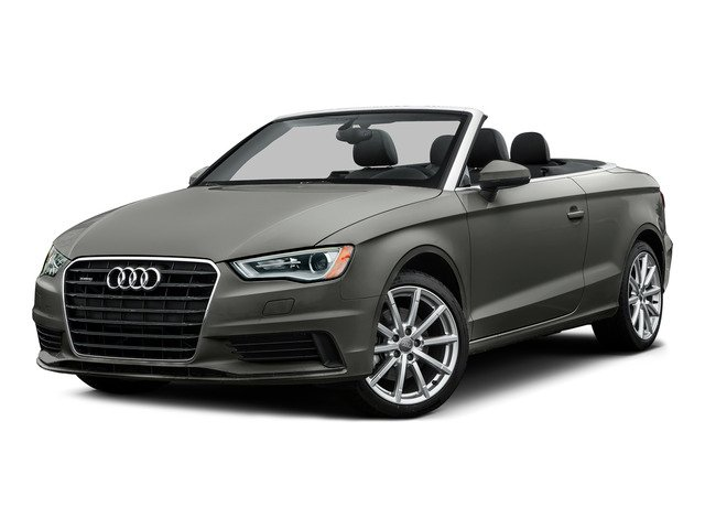 Lotus Gray Metallic/Black Roof 2015 Audi A3 Pictures A3 Conv 2D 1.8T Premium Plus I4 Turbo photos front view