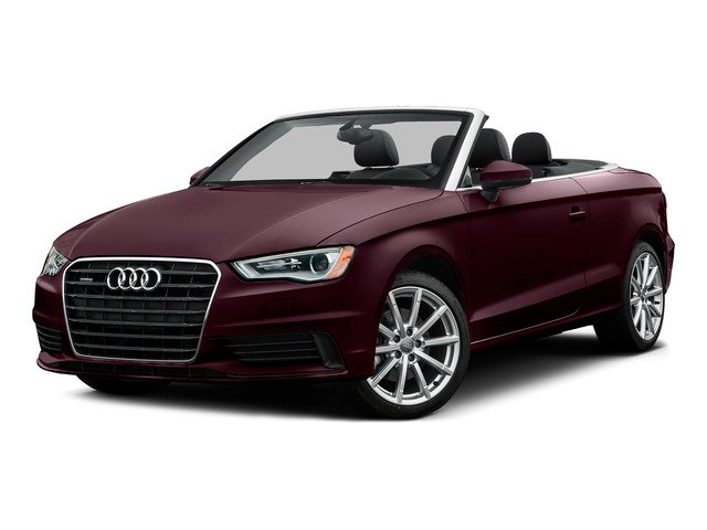 Shiraz Red Metallic/Black Roof 2015 Audi A3 Pictures A3 Conv 2D 2.0T Prem Plus AWD I4 Turbo photos front view