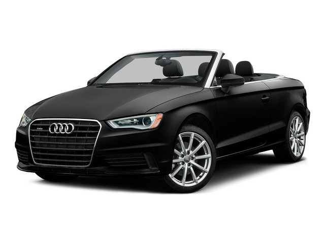 Brilliant Black/Black Roof 2015 Audi A3 Pictures A3 Conv 2D 2.0T Prem Plus AWD I4 Turbo photos front view