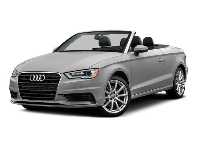 Florett Silver Metallic/Black Roof 2015 Audi A3 Pictures A3 Conv 2D 1.8T Premium Plus I4 Turbo photos front view