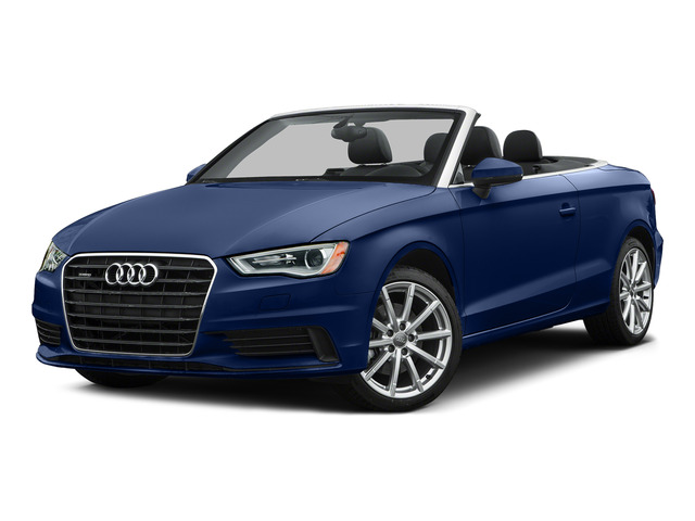 Scuba Blue Metallic/Black Roof 2015 Audi A3 Pictures A3 Conv 2D 1.8T Premium Plus I4 Turbo photos front view