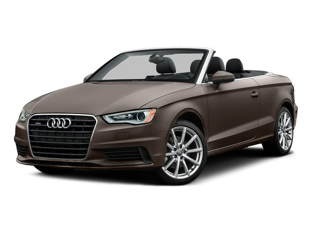 Dakota Gray Metallic/Black Roof 2015 Audi A3 Pictures A3 Conv 2D 2.0T Prem Plus AWD I4 Turbo photos front view