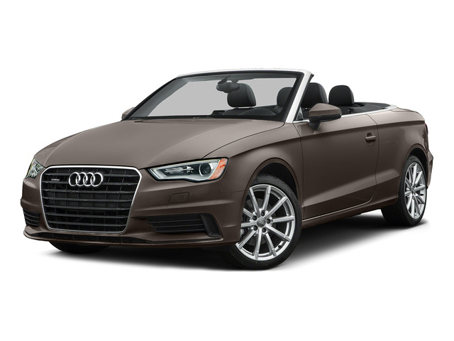 Dakota Gray Metallic/Black Roof 2015 Audi A3 Pictures A3 Conv 2D 1.8T Premium Plus I4 Turbo photos front view