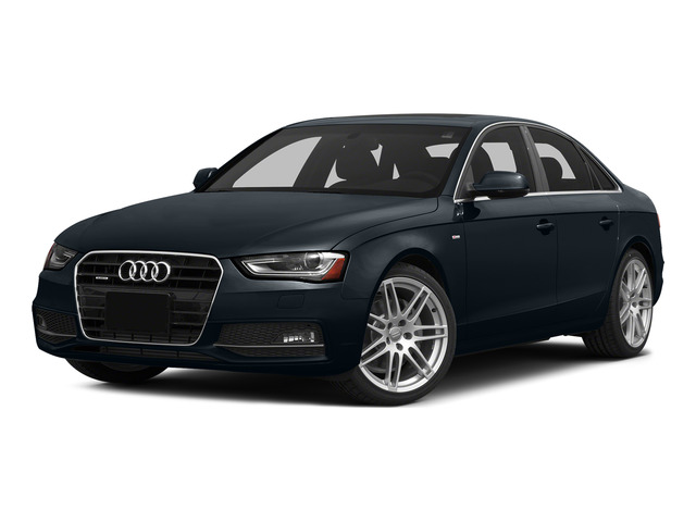 Moonlight Blue Metallic 2015 Audi A4 Pictures A4 Sedan 4D 2.0T Prestige AWD photos front view