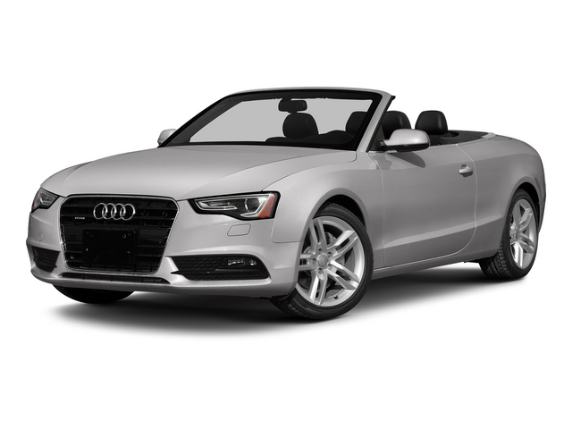 Cuvee Silver Metallic/Black Roof 2015 Audi A5 Pictures A5 Convertible 2D Premium Plus AWD photos front view