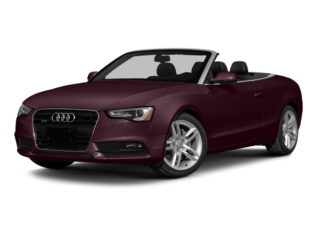Shiraz Red Metallic/Black Roof 2015 Audi A5 Pictures A5 Convertible 2D Premium Plus AWD photos front view