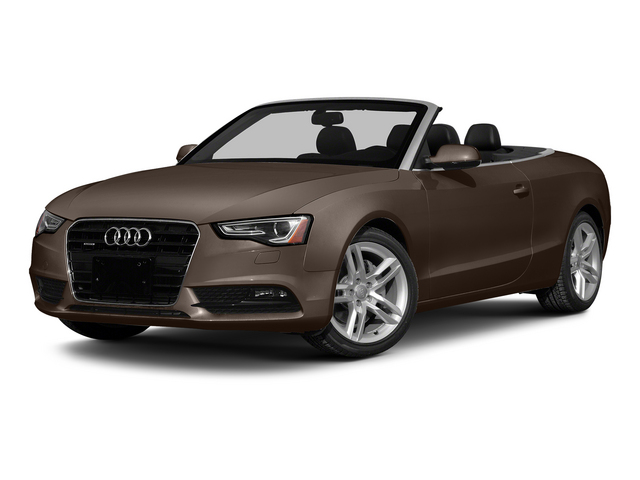 Teak Brown Metallic/Black Roof 2015 Audi A5 Pictures A5 Convertible 2D Premium Plus AWD photos front view