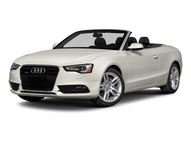 Ibis White/Black Roof 2015 Audi A5 Pictures A5 Convertible 2D Premium Plus AWD photos front view