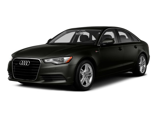 Havanna Black Metallic 2015 Audi A6 Pictures A6 Sedan 4D 3.0T Prestige AWD photos front view