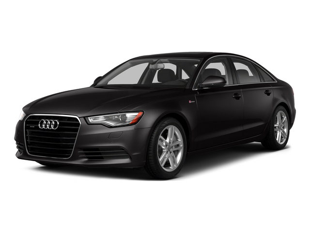 Oolong Gray Metallic 2015 Audi A6 Pictures A6 Sedan 4D TDI Prestige AWD photos front view