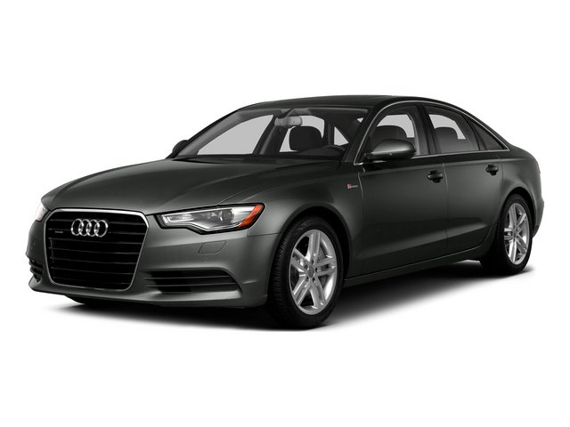 Daytona Gray Pearl Effect 2015 Audi A6 Pictures A6 Sedan 4D TDI Prestige AWD photos front view