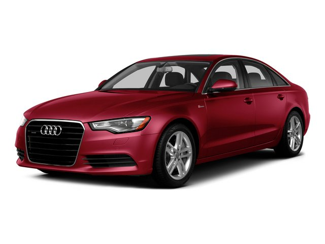 Garnet Red Pearl Effect 2015 Audi A6 Pictures A6 Sedan 4D 3.0T Prestige AWD photos front view