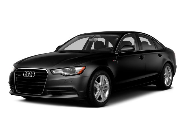 Phantom Black Pearl Effect 2015 Audi A6 Pictures A6 Sedan 4D 3.0T Prestige AWD photos front view
