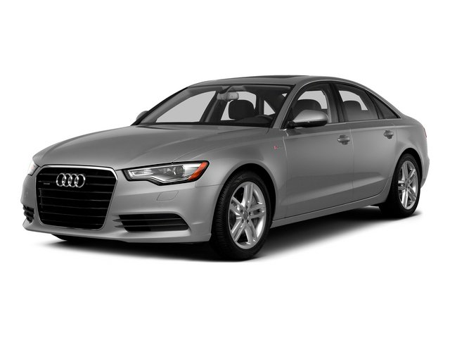 Ice Silver Metallic 2015 Audi A6 Pictures A6 Sedan 4D 3.0T Prestige AWD photos front view