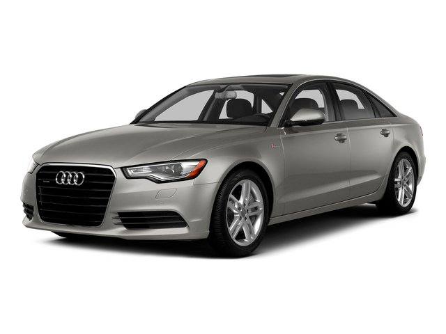Quartz Gray Metallic 2015 Audi A6 Pictures A6 Sedan 4D 3.0T Prestige AWD photos front view