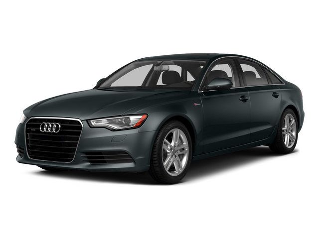 Aviator Blue Metallic 2015 Audi A6 Pictures A6 Sedan 4D TDI Prestige AWD photos front view