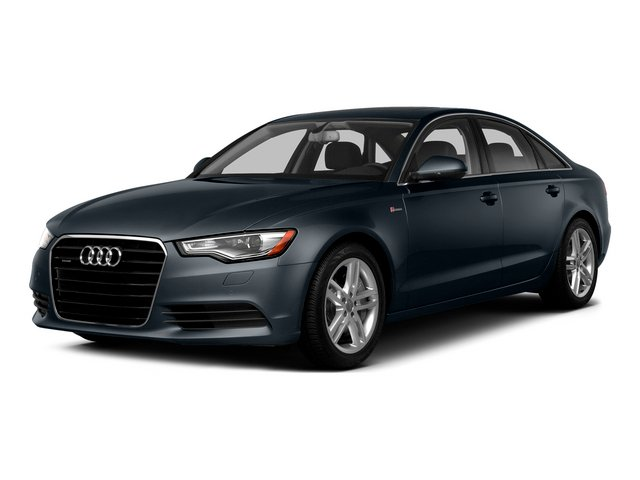 Moonlight Blue Metallic 2015 Audi A6 Pictures A6 Sedan 4D TDI Prestige AWD photos front view