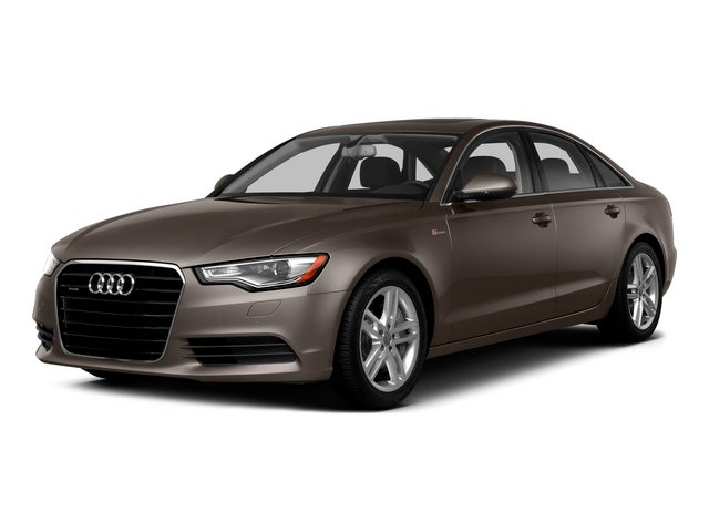 Dakota Gray Metallic 2015 Audi A6 Pictures A6 Sedan 4D TDI Prestige AWD photos front view
