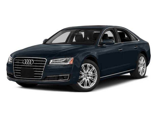 Moonlight Blue Metallic 2015 Audi A8 Pictures A8 Sedan 4D 4.0T AWD V8 Turbo photos front view
