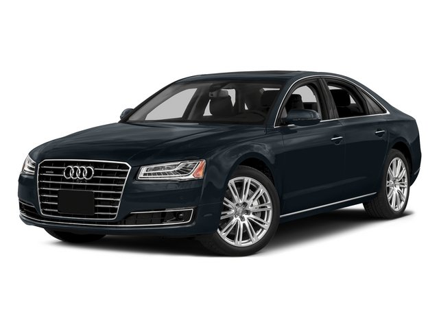 Moonlight Blue Metallic 2015 Audi A8 Pictures A8 Sedan 4D 3.0T AWD V6 Turbo photos front view