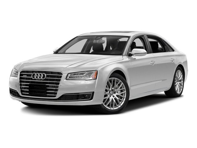 Glacier White Metallic 2015 Audi A8 L Pictures A8 L Sedan 4D TDI L AWD V6 photos front view