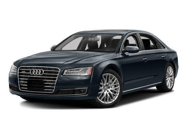 Moonlight Blue Metallic 2015 Audi A8 L Pictures A8 L Sedan 4D 4.0T L AWD V8 Turbo photos front view