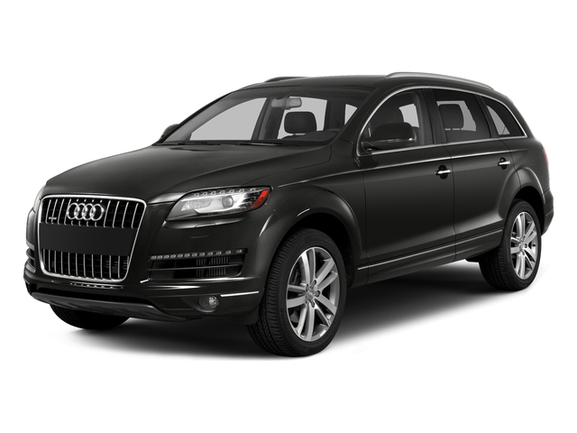 Lava Gray Pearl Effect 2015 Audi Q7 Pictures Q7 Utility 4D 3.0 Premium AWD photos front view