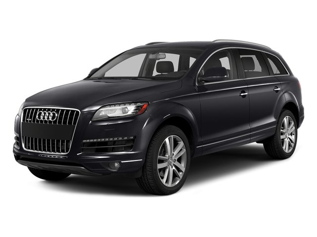 Orca Black Metallic 2015 Audi Q7 Pictures Q7 Utility 4D 3.0 Premium AWD photos front view