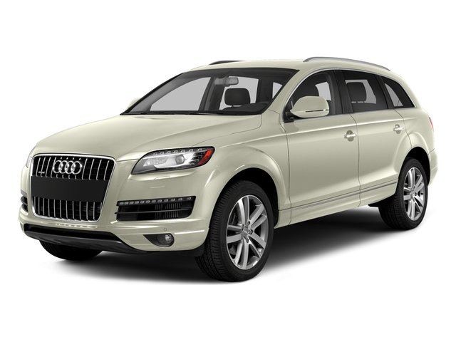 Glacier White Metallic 2015 Audi Q7 Pictures Q7 Utility 4D 3.0 Premium AWD photos front view