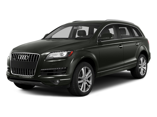 Daytona Gray Pearl Effect 2015 Audi Q7 Pictures Q7 Utility 4D 3.0 Premium AWD photos front view