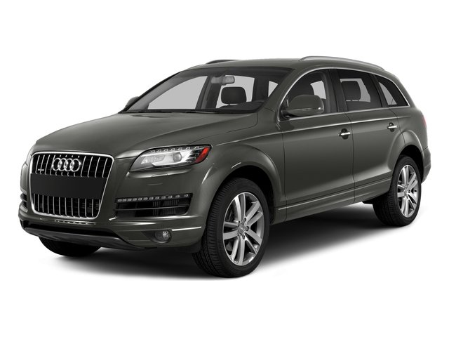 Graphite Gray Metallic 2015 Audi Q7 Pictures Q7 Utility 4D 3.0 Premium AWD photos front view