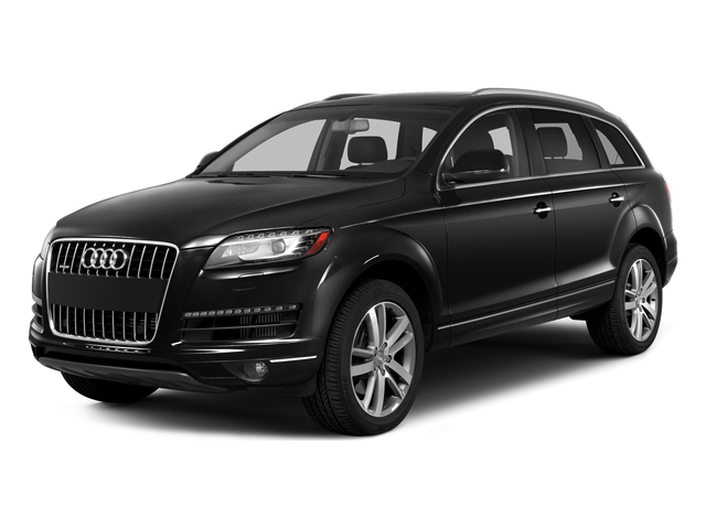 Night Black 2015 Audi Q7 Pictures Q7 Utility 4D 3.0 Premium AWD photos front view