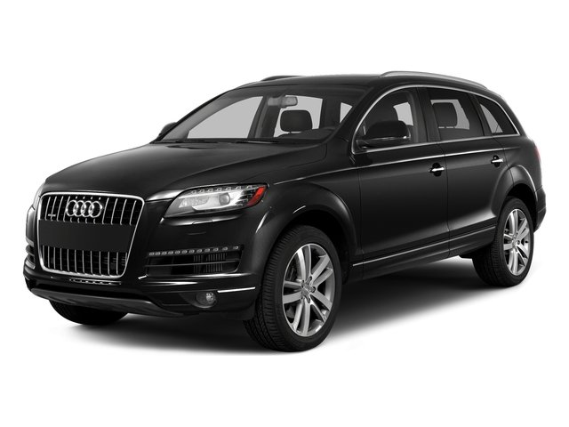 Night Black 2015 Audi Q7 Pictures Q7 Utility 4D 3.0 TDI Premium AWD photos front view