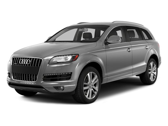Ice Silver Metallic 2015 Audi Q7 Pictures Q7 Utility 4D 3.0 TDI Premium AWD photos front view