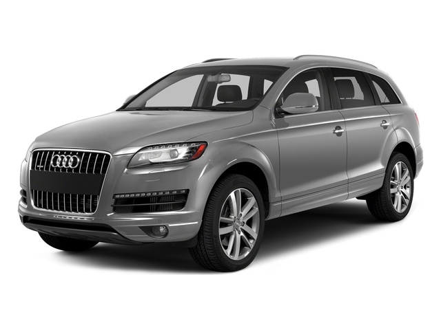 Ice Silver Metallic 2015 Audi Q7 Pictures Q7 Utility 4D 3.0 Premium AWD photos front view