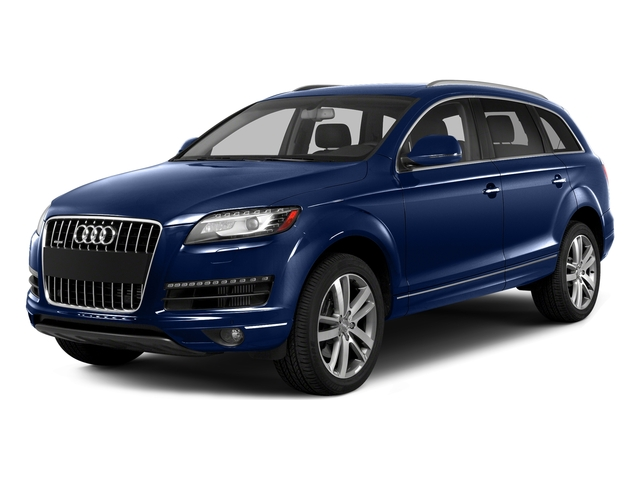Scuba Blue Metallic 2015 Audi Q7 Pictures Q7 Utility 4D 3.0 Premium AWD photos front view